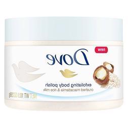 Dove Exfoliating Body Polish Crushed Macadamia and Rice Milk