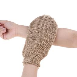 Fibre Bath Gloves Exfoliating Skin <font><b>Wash</b></font>