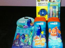 Disney Finding Dory Bubble Bath & Body Wash, Nail Kit & Lip