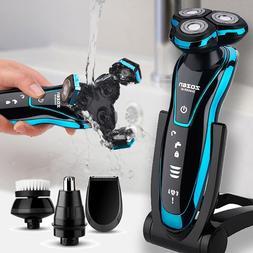 <font><b>Men</b></font> Electric Shaver Floating Razor Wet D