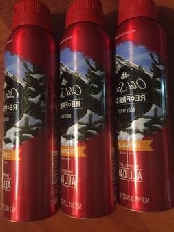 Old Spice Fresh Collection Re-Fresh Deodorant Body Spray, De