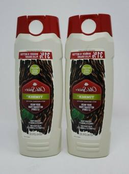 Old Spice Fresher Collection Timber Scent Men's Body Wash, T