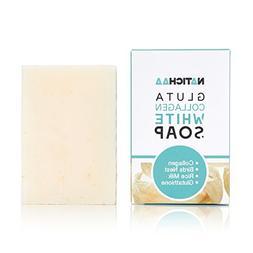 Glutathione & Collagen Whitening Soap  - Reduce Wrinkles, Fr