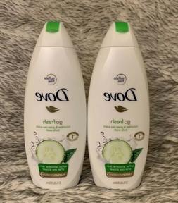 Dove Go Fresh 22 OZ body Wash Cucumber & Green Tea Scent