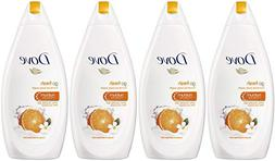 Dove Go Fresh Body Wash, Revitalize, Mandarin & Tiare Flower