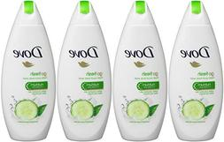 Dove Go Fresh Cool Moisture Fresh Touch Body Wash, Cucumber