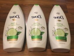 Dove go fresh sulfate free cucumber & green tea body wash 65