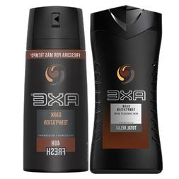3 x Axe Gold Temptation Shower Gel / Body Wash 250ml = 8.45