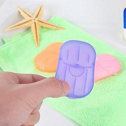 Travel Hand Soap Hand Soap Travel 20pcs Outdoor Travel Soap