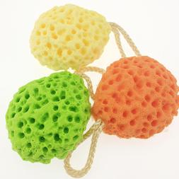 Honeycomb Baby Bath Sponge Scrubber Natural Soft Shower Ball