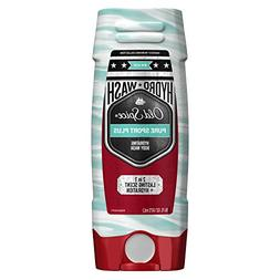 Old Spice Hydro Body Wash Hardest Working Collection Pure Sp