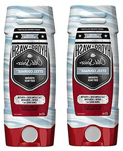 Old Spice Hydro Body Wash Hardest Working Collection Steel C