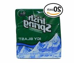 1 Bars of Irish Spring ICY Blast Deodorant Soap 3.75oz