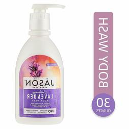 Jason Natural Body Wash and Shower Gel, Calming Lavender 30