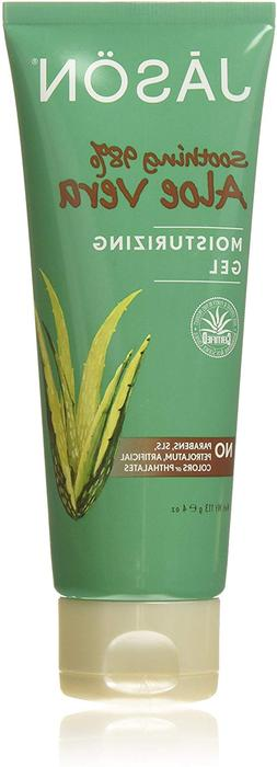 JASON Soothing 98% Aloe Vera Moisturizing Gel , 4 Ounce Tube