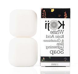 Kojic Acid & Glutathione Skin Lightening Soap  - Brightening
