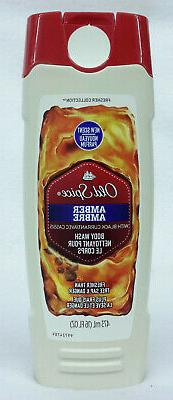 1 Old Spice AMBER With BLACK CURRANT For Men Boys Body Wash