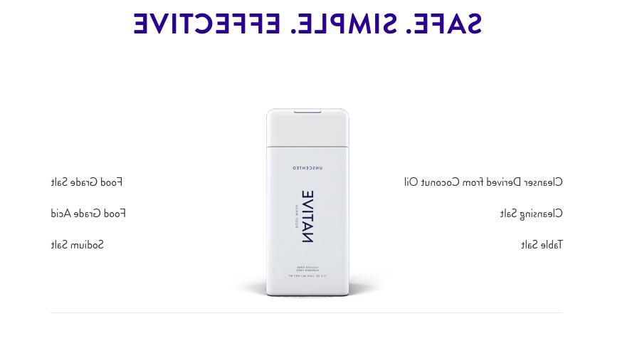 1 NATIVE Natural FREE SPA-WORTHY Wash
