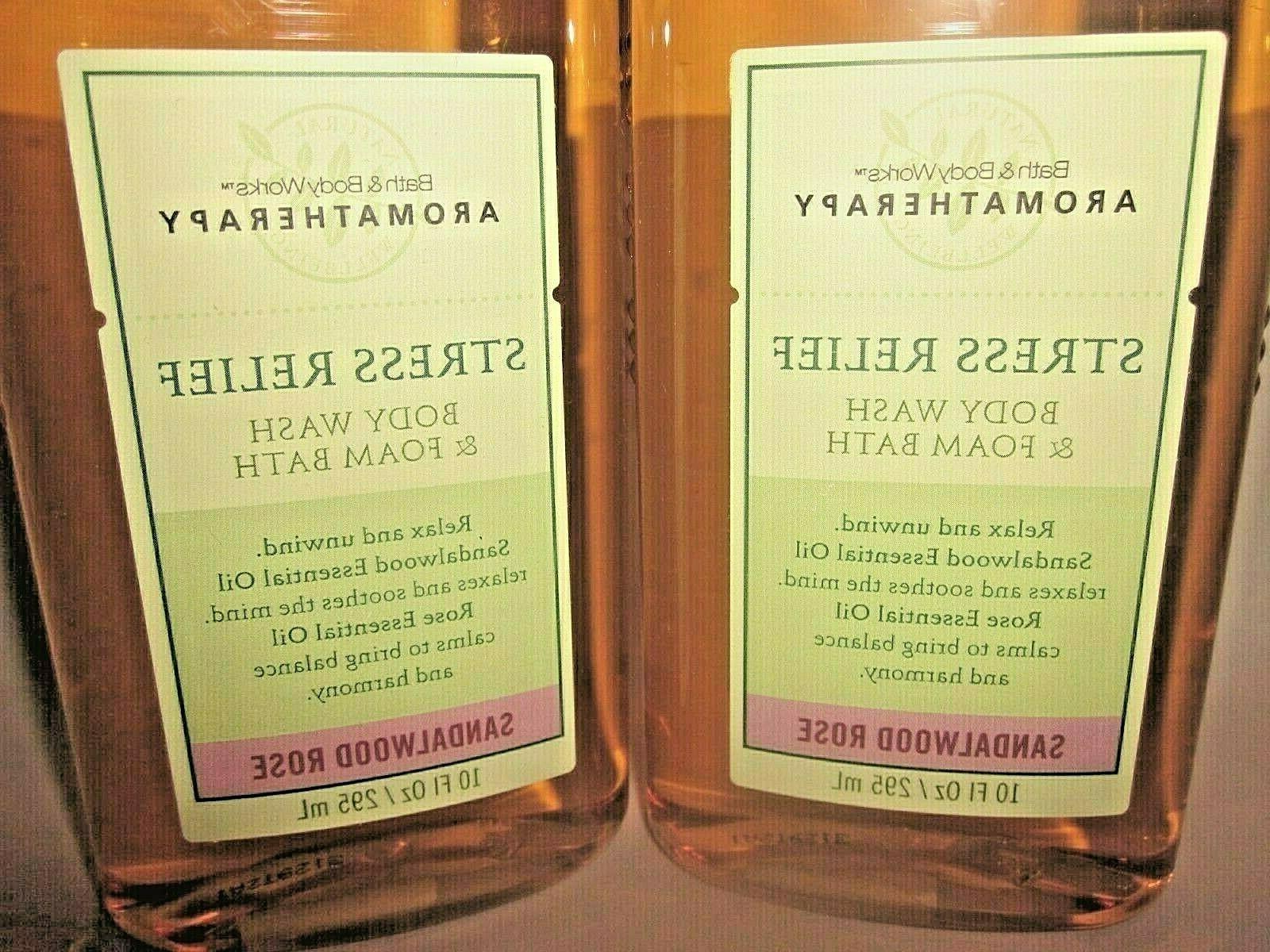 2 Bath Works Body & Bath Sandalwood Rose