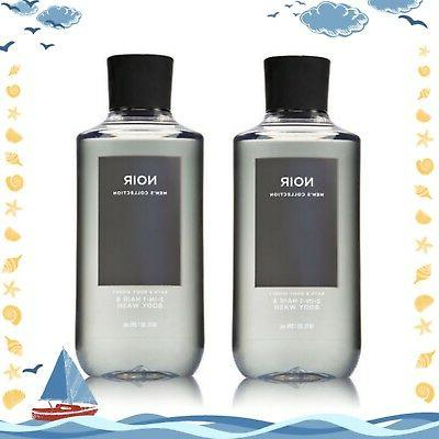 Bath & Body Works Men's Collection NOIR 2-in-1 Hair and Bod
