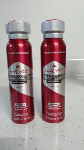 2~Old Foamer Body Wash Spice Sweat Defense Anti-Perspirant