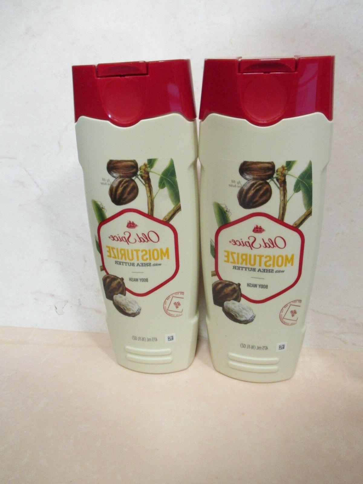2 pack moisturize with shea butter body