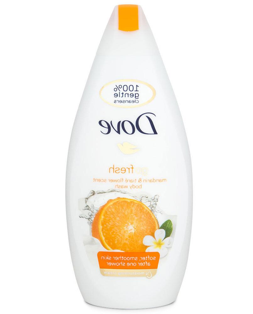 3x Mandarin Cream Shower Gel