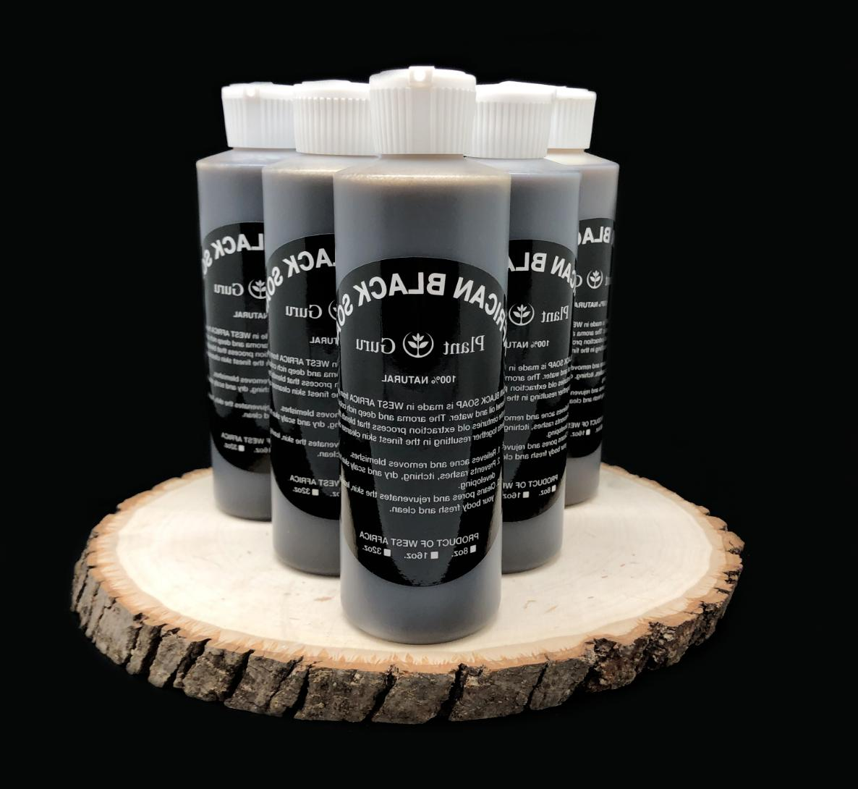 8 Black Pure Body Wash