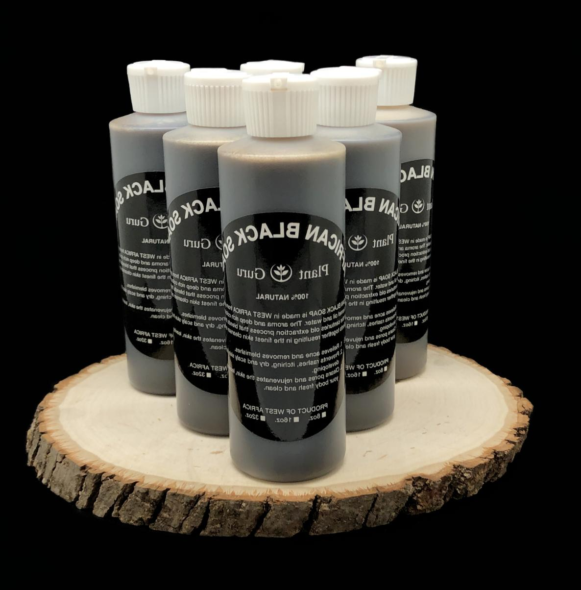 8 oz. African Black Soap Raw Pure