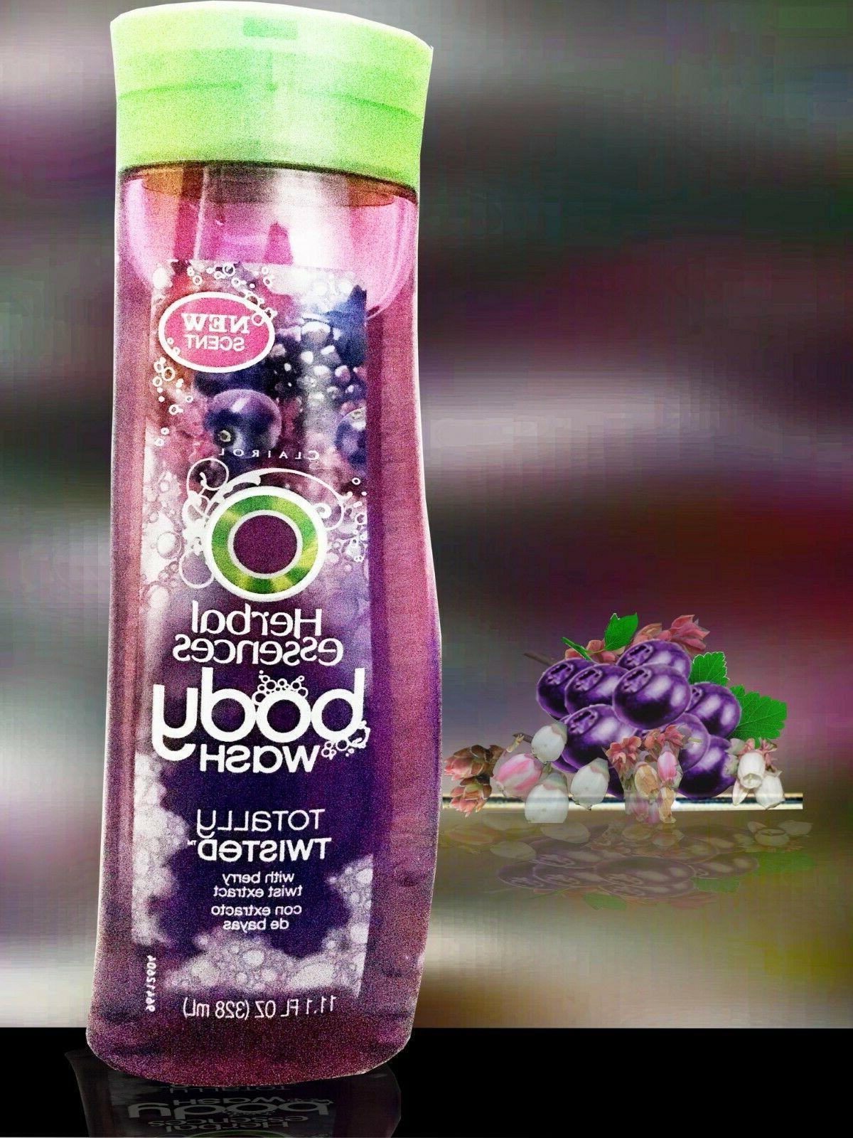 3 Herbal Essences Body Wash Lather w/ Rose fl