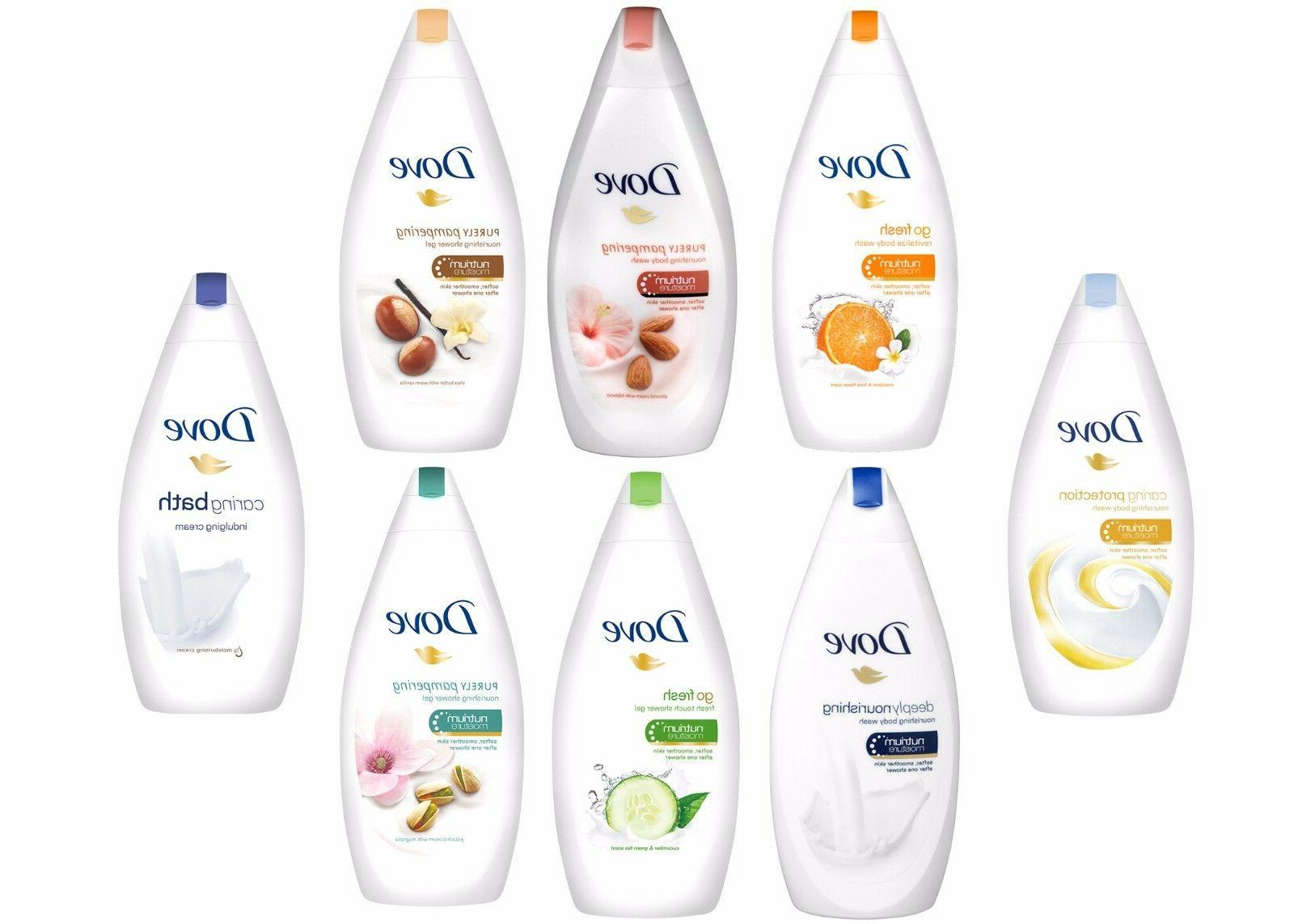 6 X Dove Purely Pampering Body Wash Smoother