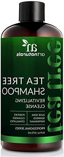 ArtNaturals Tea Tree Shampoo -  - Sulfate Free – Made with