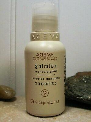 Aveda Calming Body Cleanser Soothing Body Wash 1.7 oz Travel