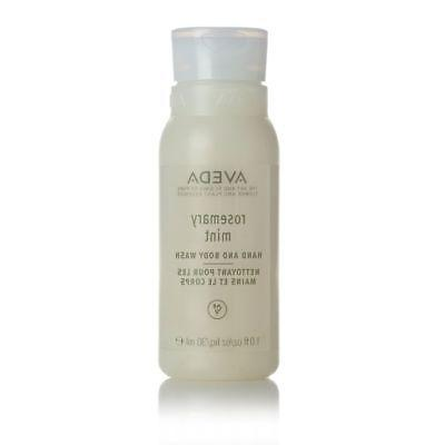 Aveda Rosemary Mint Hand & Body Wash. Lot of 12 Bottles. Tot