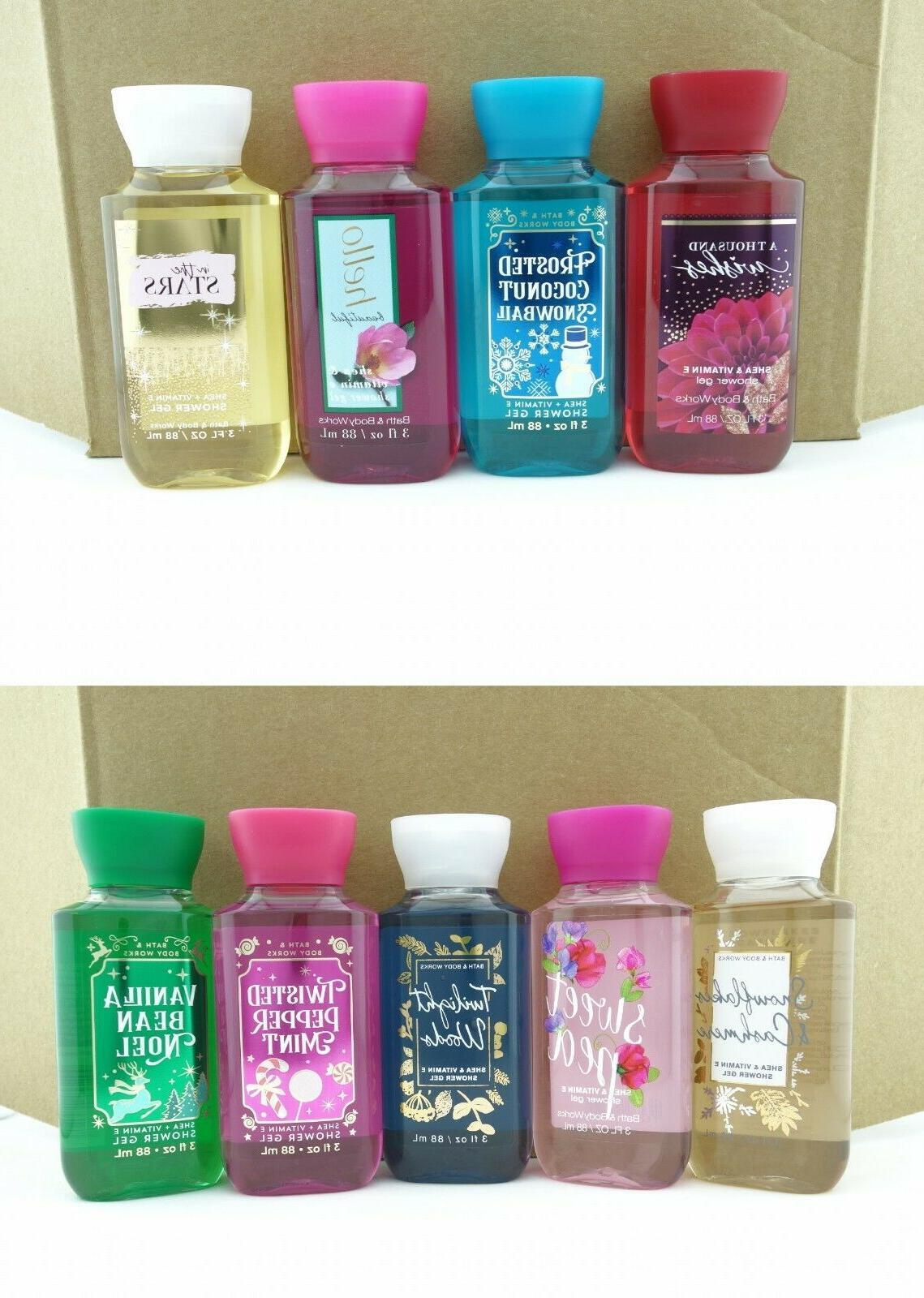 Bath Body Works 3oz Shower Gel Body Wash Travel Size Shea Bu