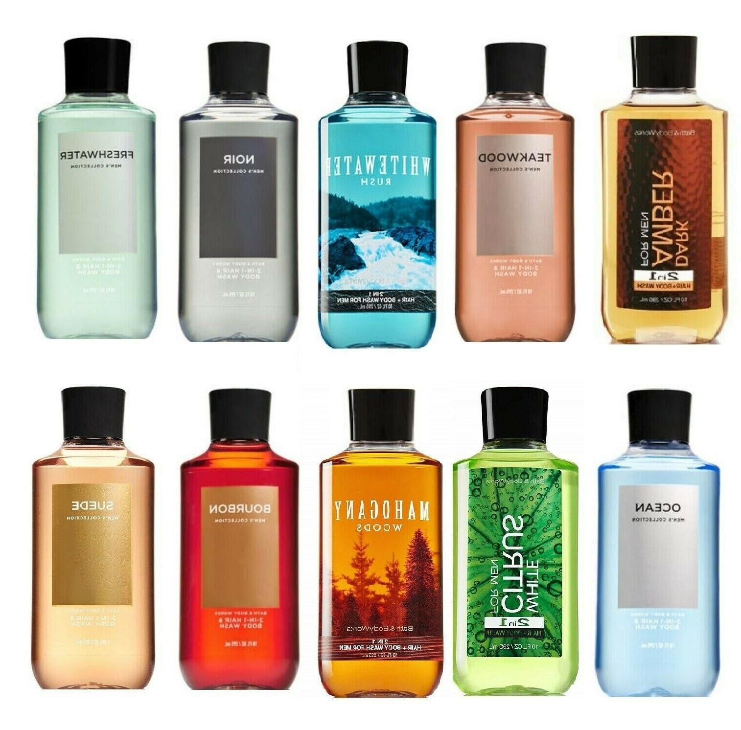 Bath and Body Works Men Signature 2-in-1 Hair + Body Wash -