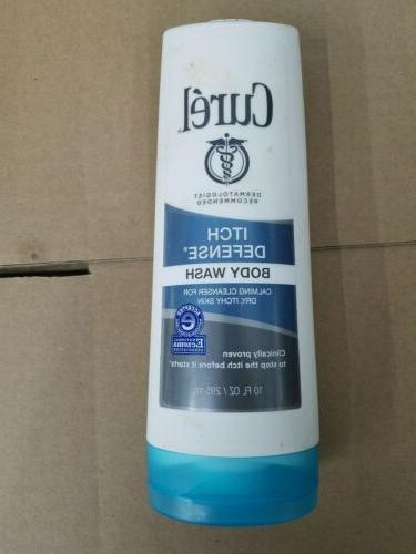 Curél Itch Defense Body Wash, 10 Ounces