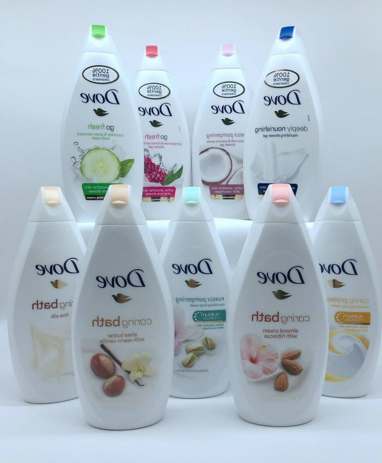 Dove Package Wash Of Scents