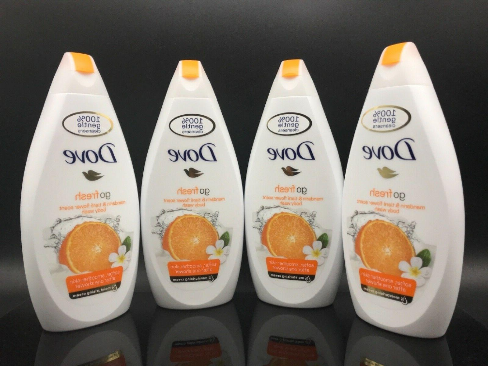 Dove Go Fresh Mandarin Body Wash nutrium moisture 16.90 OZ
