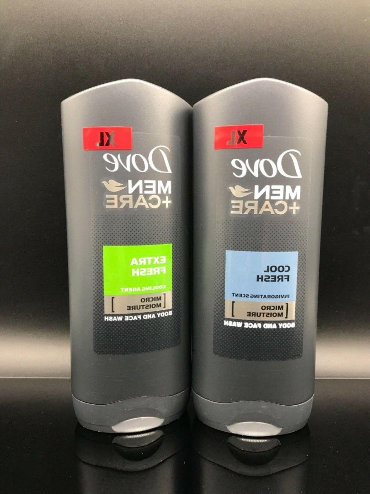 Dove Men Care Body And Face Moisture Wash