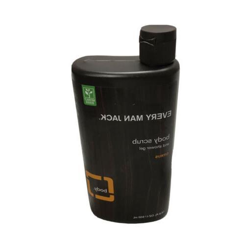 Every Man Jack Body Wash Citrus Scrub 16.9 oz