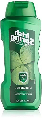 Irish Spring Body Wash, 18 Ounce,