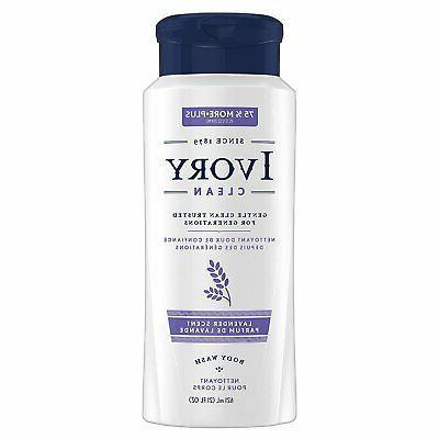 Ivory Body Wash Lavender 21 oz