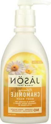 Jason Natural Products-Chamomile Natural Body Wash, Pack of