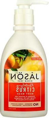 Jason Natural Products-Citrus Satin Shower Body Wash