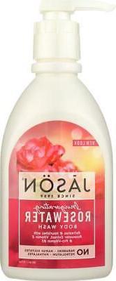 Jason Natural Products-Invigorating Rosewater Body Wash Pure