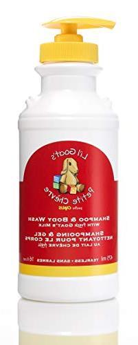 Li'l Goats by Canus Fresh Goat's Milk Shampoo and Body Wash,