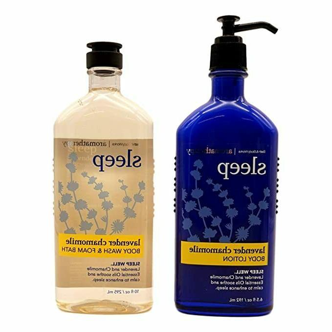 Lot of 2 Bath & Body Works Aromatherapy Sleep Lavender Chamo