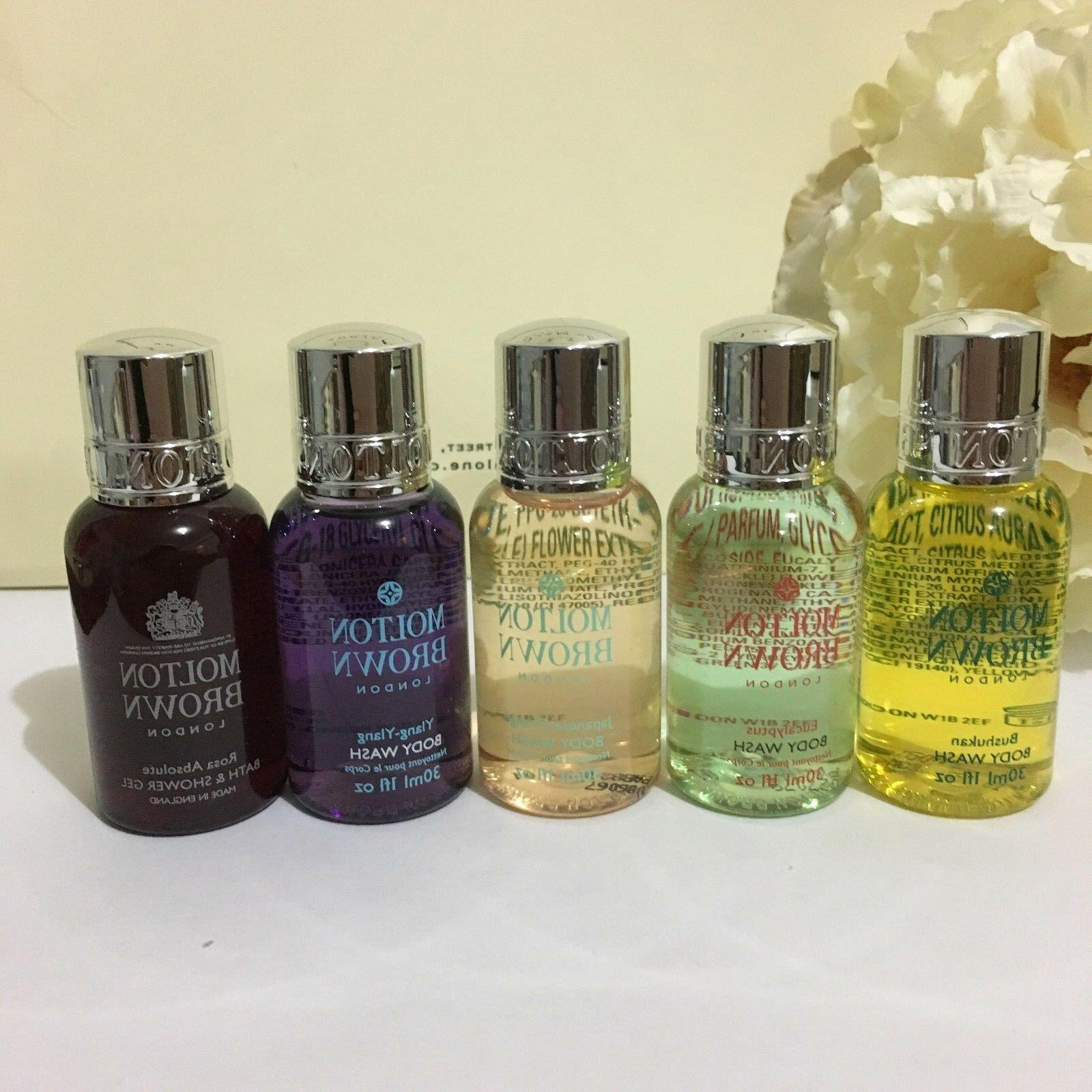 Molton Brown Body Wash 1oz / 30ml Travel Size Various Scent