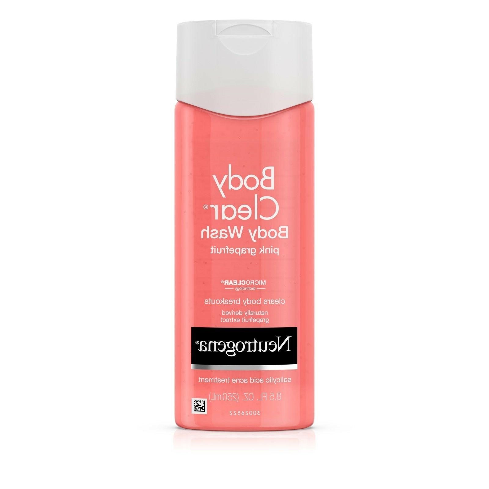 Neutrogena Body Clear Body Wash Pink Grapefruit
